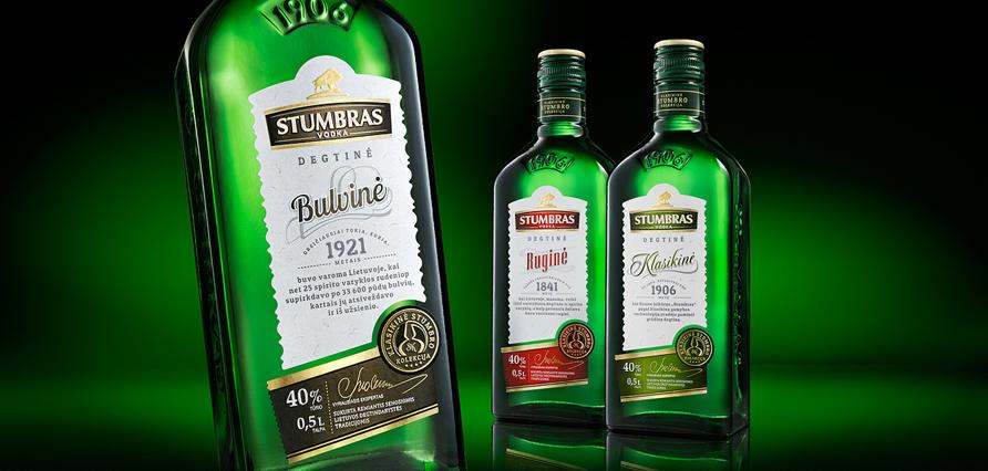 Stumbras Vodka Collection 000