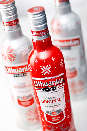 Lithuanian Vodka Original Xmas 1 000